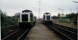 212 262 vor N 8933 nach Duisburg begegnet in Xanten einer weiteren 212