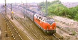 221 122 verlässt im April 1984 Rheinkamp