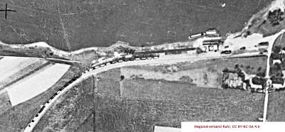 Luftbild Birten - Detail Verladeanlage